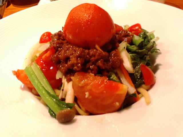 すずらん@渋谷『紅山麺』